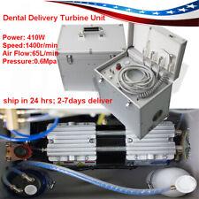 4hole 410w Dental Portable Delivery Turbine Unit Suction System 3 W Syringe Tube
