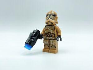 Lego Star Wars-los GEONOSIS CLONE TROOPER Airbourne casco 1 figura 75089-Nuevo