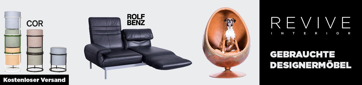 Gebrauchte Designermöbel neu inszeniert