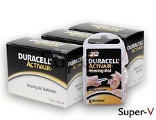 Duracell Activair Hearing Aid Batteries SZ: 312 (40 packs) (120 Cells Total) NEW