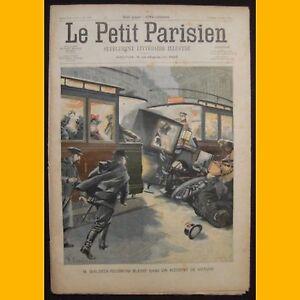 LE-PETIT-PARISIEN-Supplement-litteraire-illustre-Gare-de-Lyon-16-mars-1902