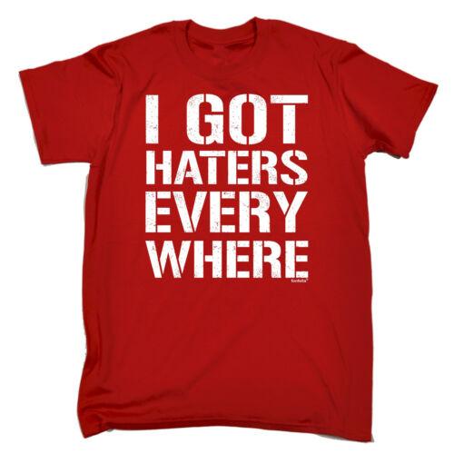 HO nemici ogni dove T-shirt Rude offensivo Moda Divertente Regalo Di Compleanno