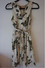 Vestido De Verano Fleur Wood Anthropologie Bonito De Algodón Estilo Vintage Talla 0 Reino Unido 6-8