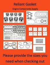 04-06 FITS FORD 6.0 DIESEL 18MM HEAD DOWEL  ENGINE REBUILDER KIT MAHLE 498-1027