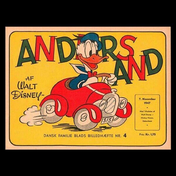 Tegneserier, Anders And-blade KØBES