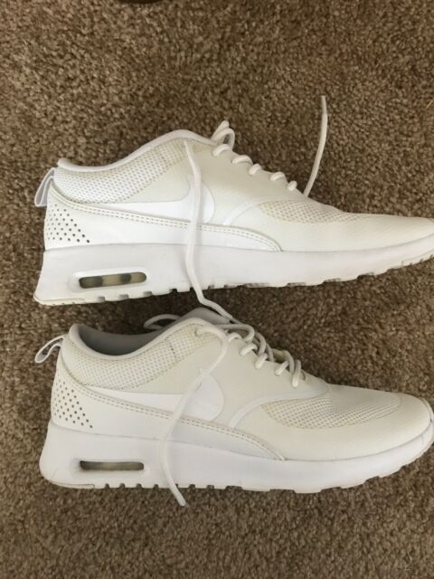 Details about Women's Nike Air Max Thea 599409 034 Ladies Trainers Grey Gym Running Shoes