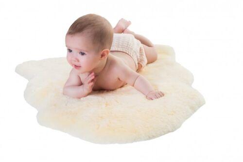Baby Lammfell geschoren 70-80 cm Fellhof OEKO-TEX Kinderwagen Einlage Babyfell