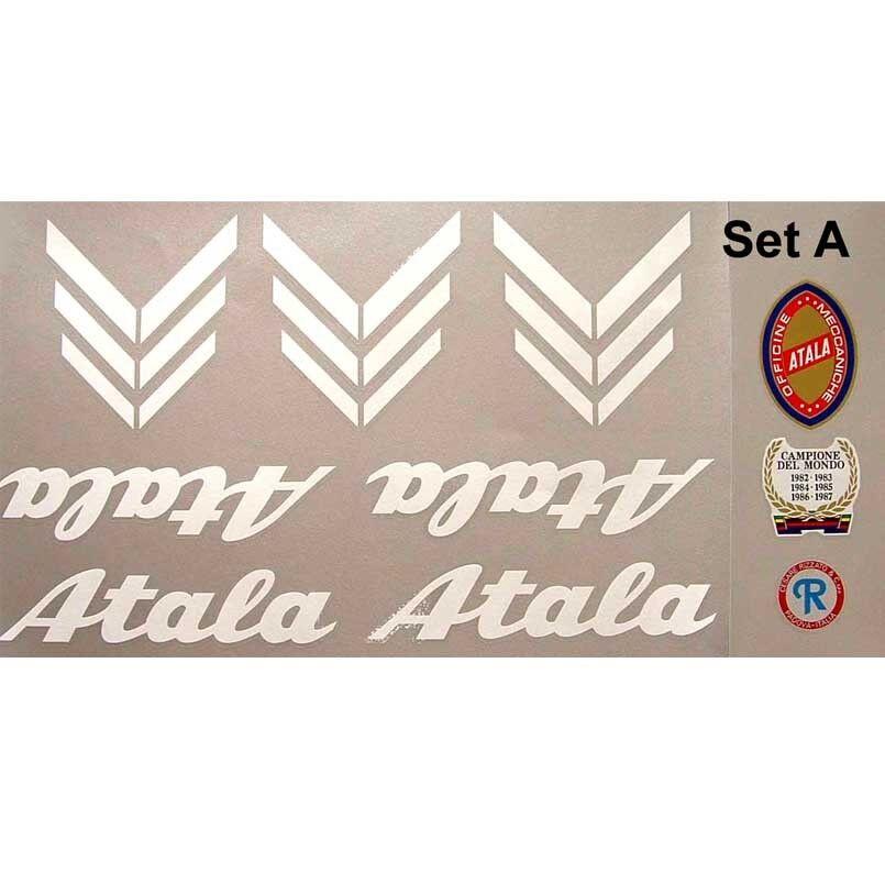 Atala decals set A for vintage restoration