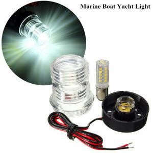 LED Navigationslicht Positionslicht Positionsleuchte Boot Yacht 12V Edelstahl