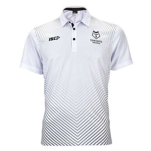 size 12 rrp £30 TORONTO WOLFPACK RUGBY LEAGUE KIDS POLO SHIRT New