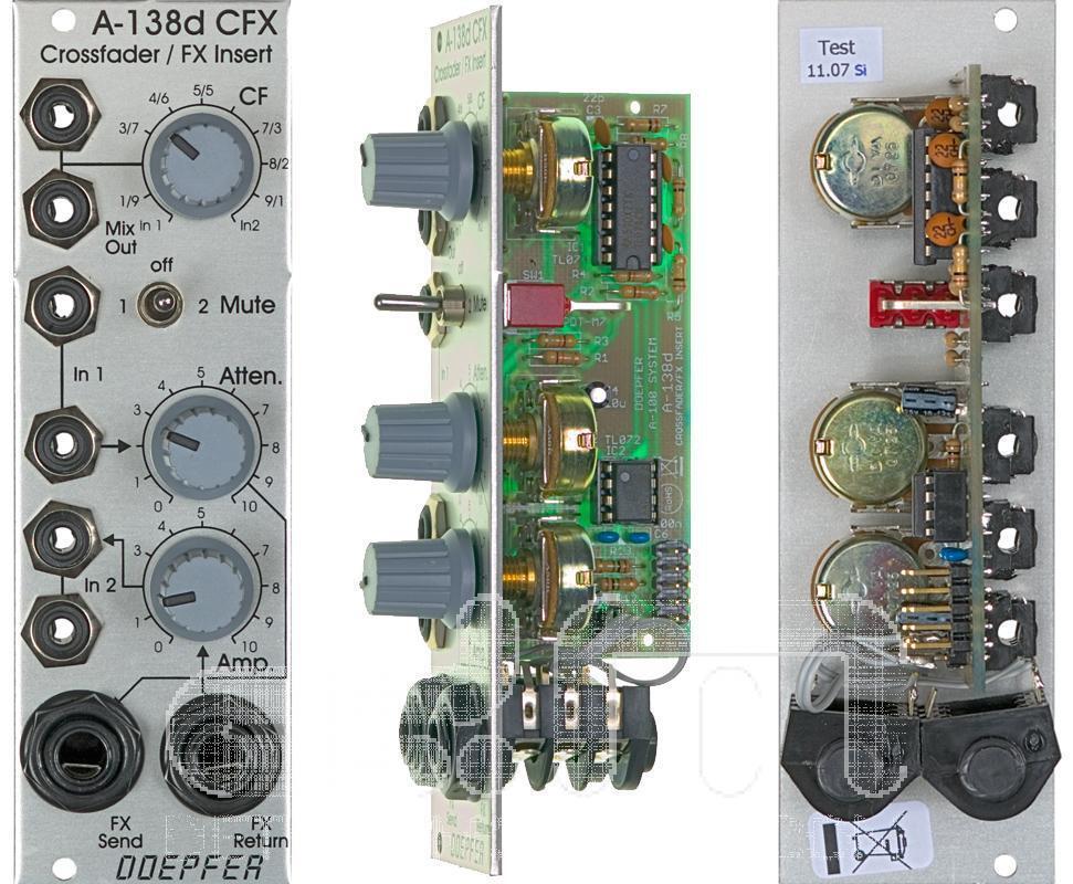 Doepfer A-138d Crossfader   FX Insert  Eurorack  [DETROIT MODULAR]