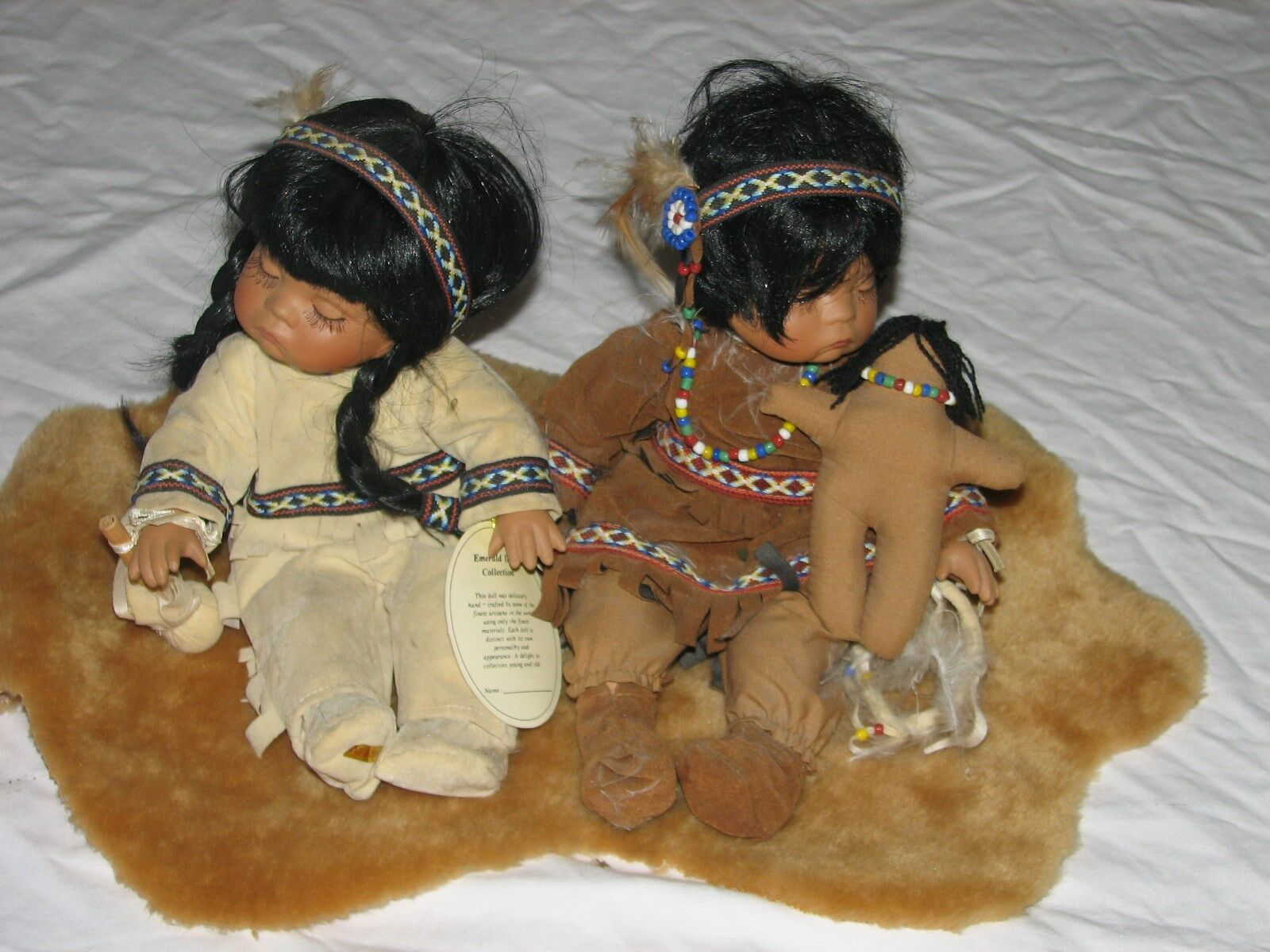 Emerald  Indian bambola Collection, Willie e Wea  fino al 60% di sconto
