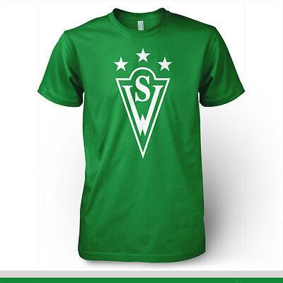 Santiago Wanderers Chile Futbol Soccer T Shirt Camiseta Valparaiso Polera