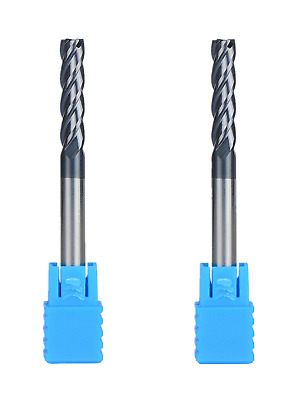 Carbide Square End Mill HRC45 4 Flute AlTiN Coating End Mill Bits CNC Router Bit