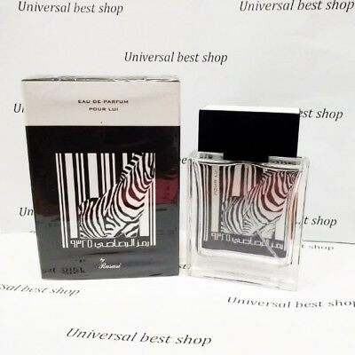 Rumz Al Rasasi 9325 Pour Lui Eau De Parfum 50ml For Men Zebra Ebay