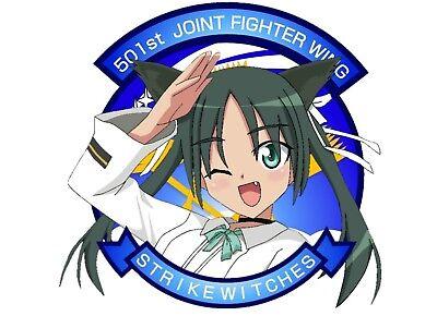 STRIKE WITCHES Francesca Lucchini qs021 Anime Dakimakura body pillow case