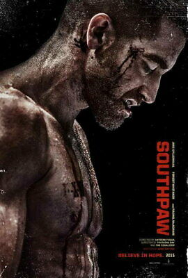 """006 Jake Gyllenhaal Southpaw Boxing Fight Movie Star 40/""""x24/"""" Poster"""