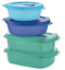 Tupperware Crystalwave Plus Microwave Safe BPA Free 4 pc Containers Set 2020 New