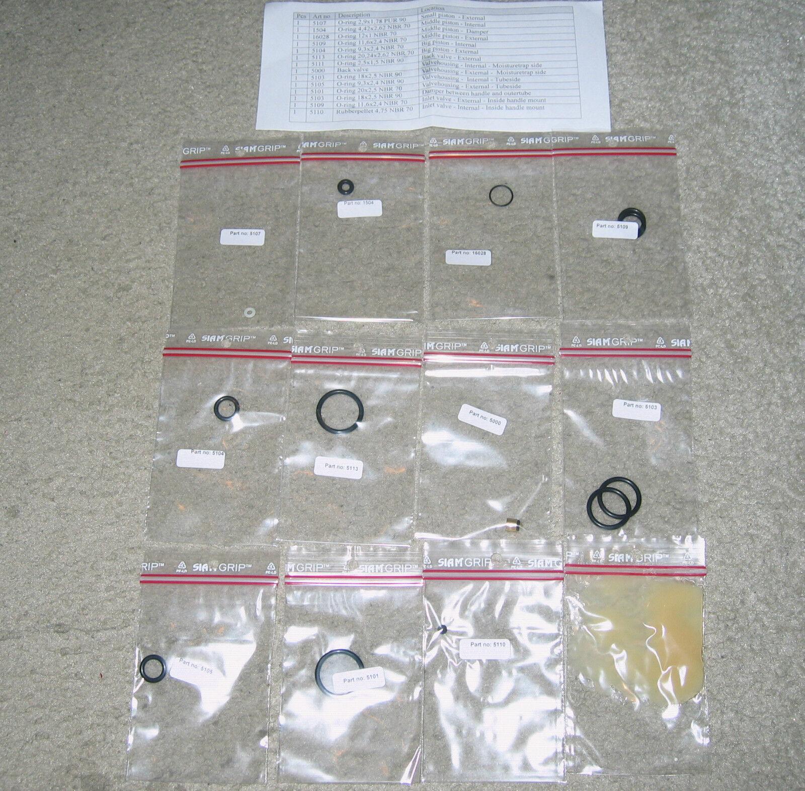 Service Kit   Seals Kit für Gehmann 4 Stage Turbo FX 200 Handpumpe