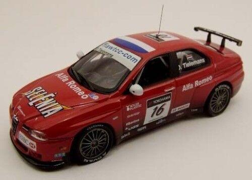 UN ALFA ROMEO 156 GTA WTCC 2007  16 red  1 43 M4