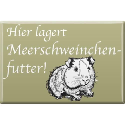 Kuehlschrankmagnet Meerschweinchen Motiv Magnete Meerschweinchenfutter 38845