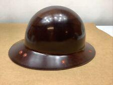 Vintage Msa Fiberglass Skullgard Hard Hat Ab Steel American Bridge Early Rare