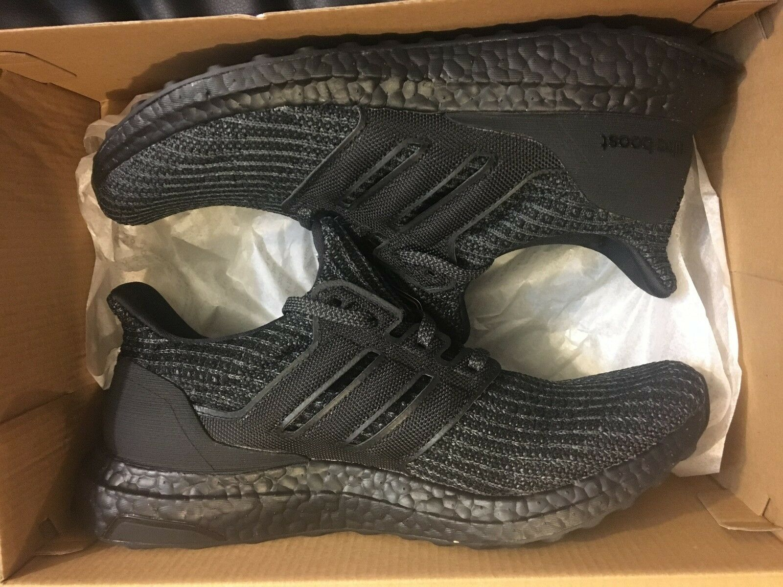 NEW ADIDAS ULTRA BOOST 4.0 TRIPLE BLK ULTRABOOST RUNNING SHOE BB6171 MEN Price reduction