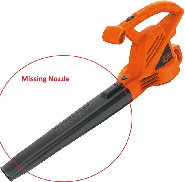 BLACK+DECKER LB700 7Amp Electric Leaf Blower - Missing Nozzle