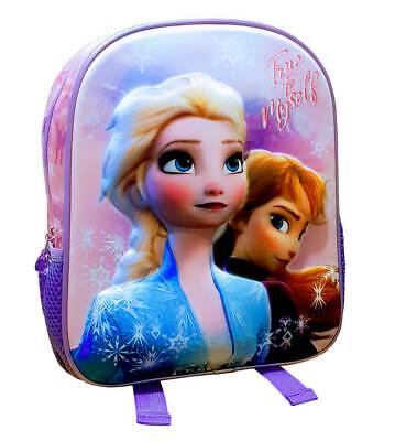 Enfants Sac À Dos Sac À Dos École Maternelle Sports Frozen 2 Elsa /& Anna