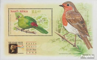 Fine Used complete.issue. South Africa Block80 Cancelled 2000 Federhelmturak At All Costs