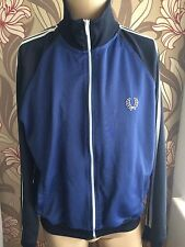Fred Perry 90s Vtg Track Top Blue L  jacket