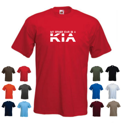 /'My Other Car is a Kia/' Men/'s Car Funny Gift Birthday T-shirt