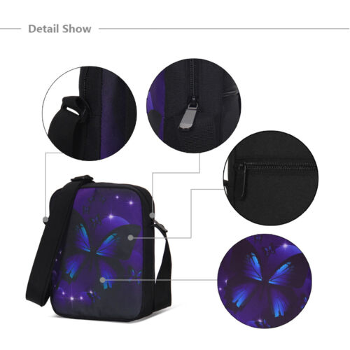 Black Panther Cartoon Student Zipper Breathable Printing School Bag Wholesale