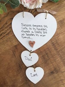 Because-someone-we-love-is-in-Heaven-quote-memorial-Heart-vintage-plaque-sign