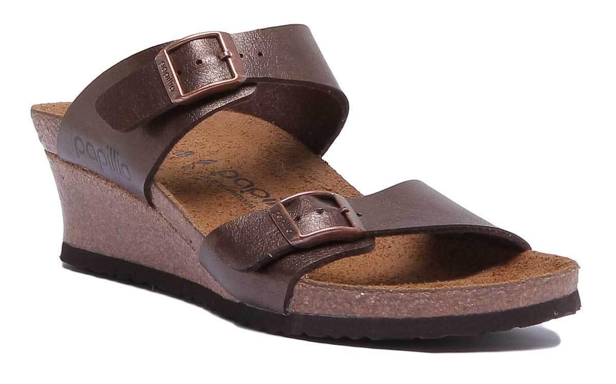 Papillio DGoldthy damen Graceful Straps Wedge Sandals Sandals Sandals In Toffee Größe UK 3 - 8 c1e762