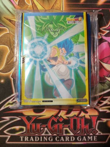 """Dragonball Super Destroyer Kings /""""A/"""" Deck Protector Card Game Sleeves 50ct"""