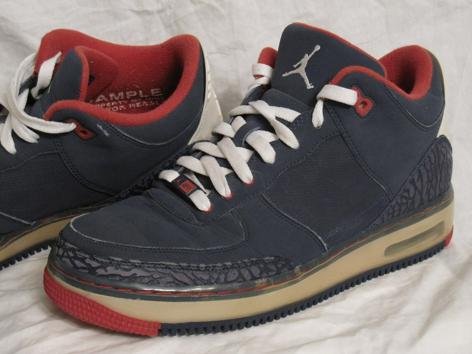 Nike Air Jordan AJF 3 unreleased Hombre Shoes ventas SZ 9 Basketball promo ventas Shoes la mas popular de las muestras de zapatos para hombres y mujeres 840a0a