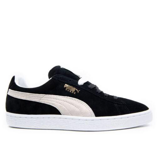 Puma Suede - Grade School - Shoes - Orange Black - 356568 41GS