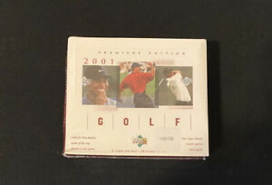 2001-Upper-Deck-Factory-Sealed-Retail-Box-Tiger-Woods-SHIPS-SAME-DAY