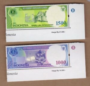 2003-Indonesia-Bank-Notes-SG-2874-5-Set-2-MUH
