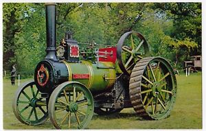 Wantage-Traction-Engine-1389-034-Constance-034-AB-8795-at-Beaulieu-Rally-PPC-Unused
