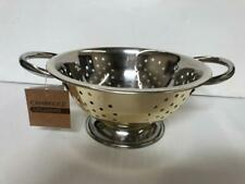 1.5 Quart, Wh Stainless Steel Colander Palais Dinnerware /'Passoire/' Collection