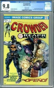 Crowded #1  1st Appearance BTC Exclusive Amazing Spider-Man #129 Homage CGC 9.8