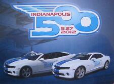Indianapolis 500-Set 2012 mit 2x Chevrolet Camaro SS LIMITED Greenlight 1:64 NEU