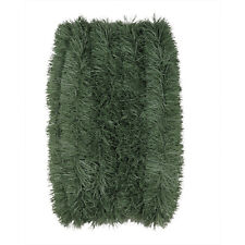 50ft CHRISTMAS Green Garland Soft Holiday PVC Indoor/ Outdoor Brand New 50 foot
