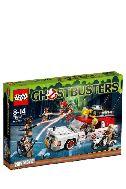 NEW LEGO Ideas Ghostbusters Ecto 1 & 2 75828