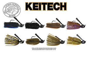 Keitech Tungsten Casting Jig Model I 3//8 oz. Select Color
