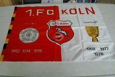 Fahne vom 1. FC Köln , Bundesliga unbenutzt! Top!