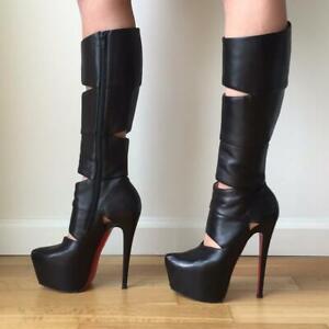louboutin platform boots