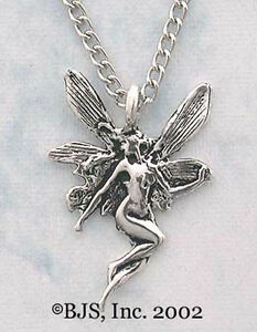 Silver fairy necklace fairy jewelry art nouveau fairy pendant image is loading silver fairy necklace fairy jewelry art nouveau fairy aloadofball Image collections